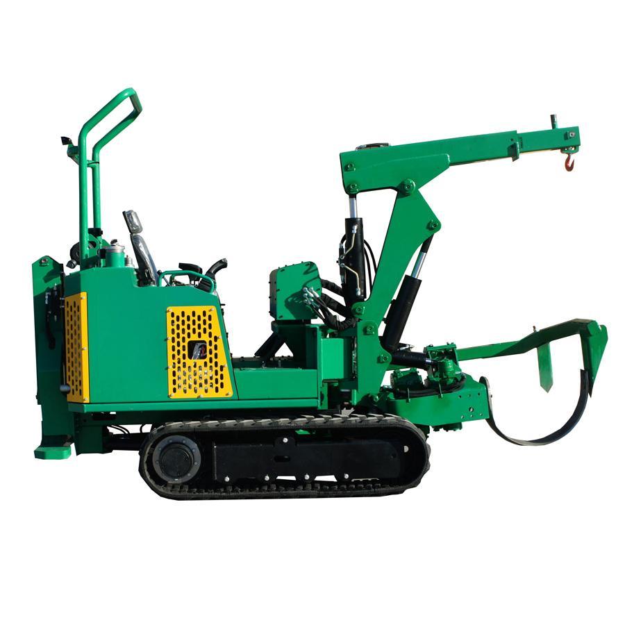 迷你履帶圓弧刀式移樹機/挖樹機 JYD-36 5
