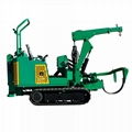 crawler Tree spade or tree transplanter used in Garden 5