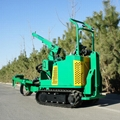 crawler Tree spade or tree transplanter used in Garden 6
