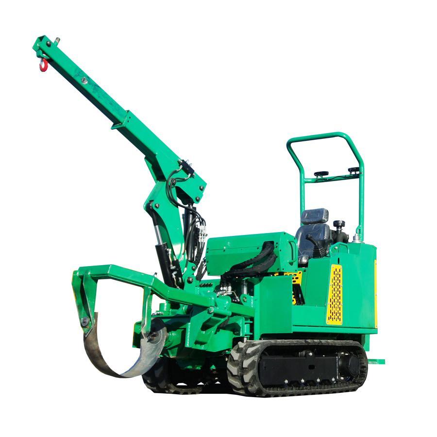 mini crawler type tree transplanter tree remover for garden 1