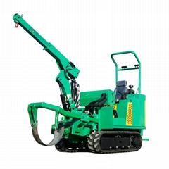 履带圆弧刀式移栽机移树机/挖树机 JYD-36
