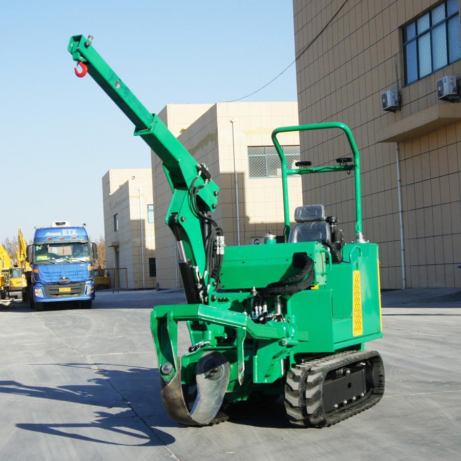 履帶圓弧刀式移栽機移樹機/挖樹機 JYD-36 4
