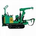 mini crawler type tree transplanter tree remover for garden 5