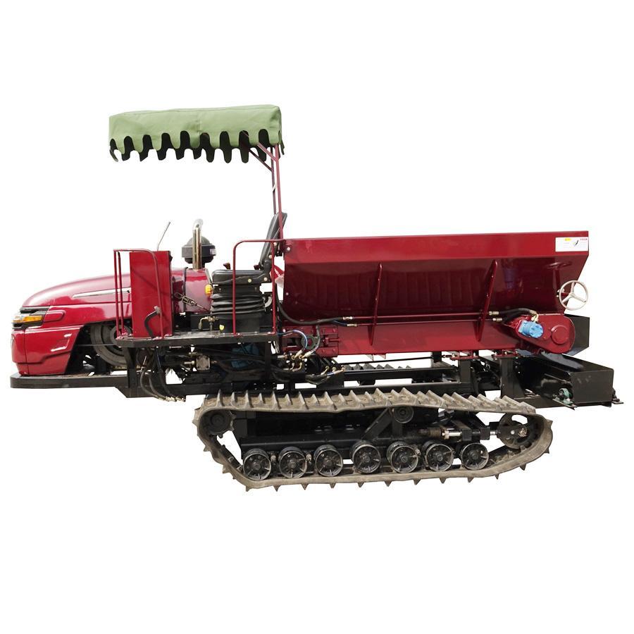 履带自走式柴油有机肥土肥抛洒机 3