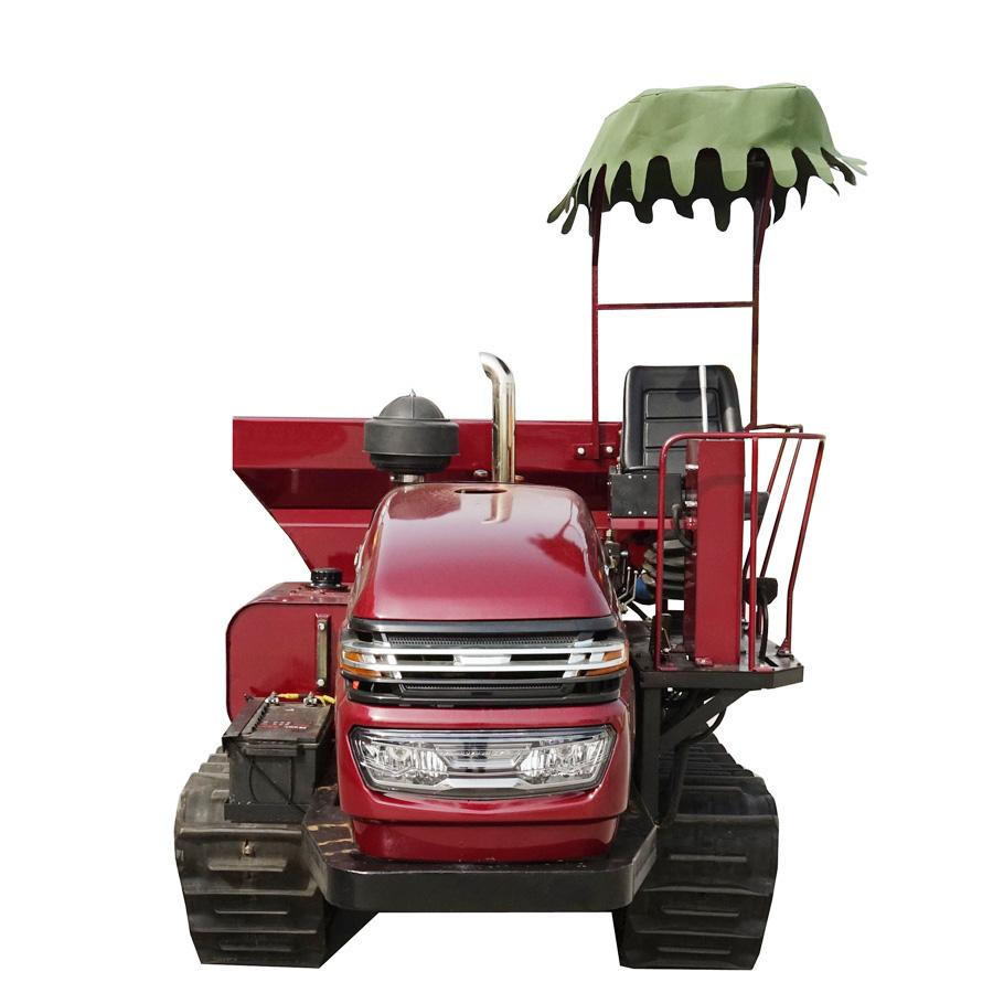 履带自走式柴油有机肥土肥抛洒机 4