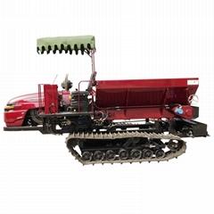 履带自走式柴油农家肥土肥撒肥机