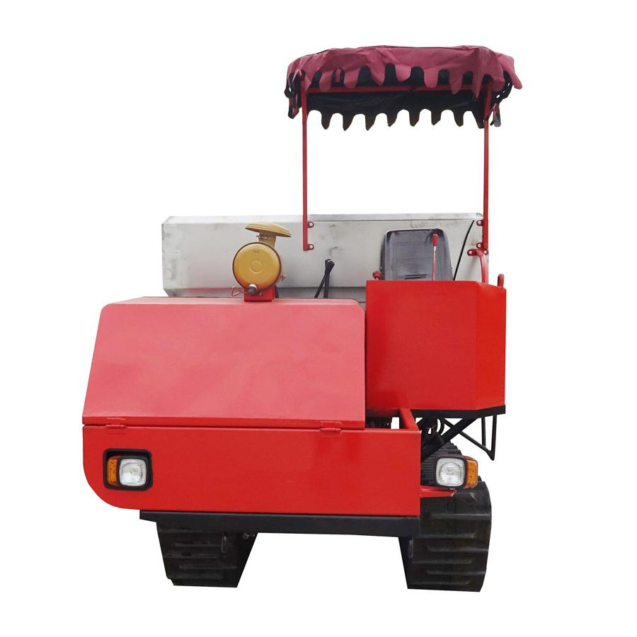 Tractor Mounted organic manure separator fertilizer drop spreader 2