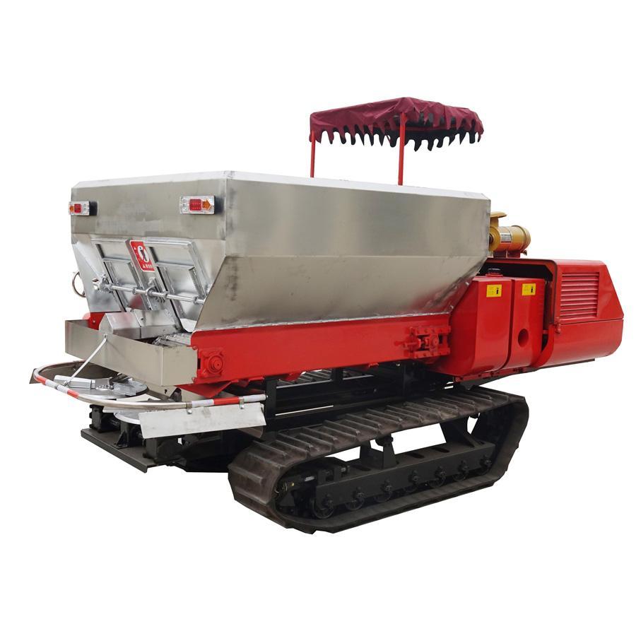 履带自走式柴油农家肥土肥撒肥机 4