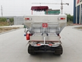 Dry Fertilizer Applicator with crawler type for paddy filed 3
