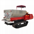 Dry Fertilizer Applicator with crawler type for paddy filed