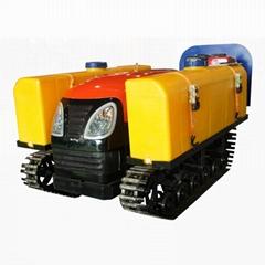 迷你履帶遙控多功能拖拉機-旋耕機  1GZ-120