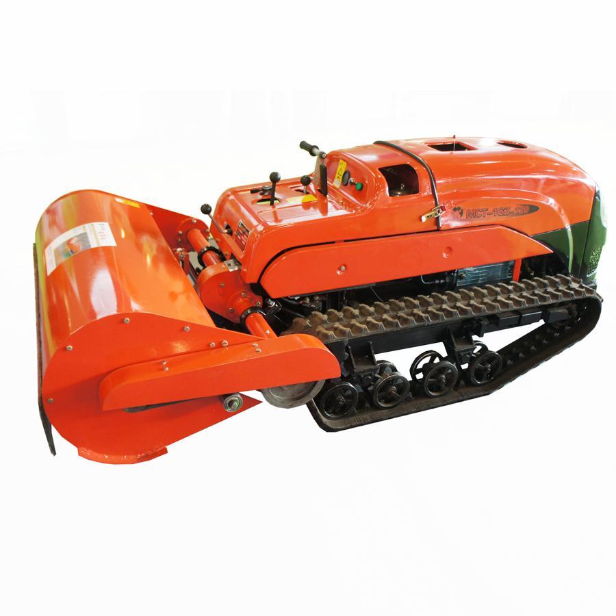 迷你履帶遙控多功能拖拉機-開溝機 6