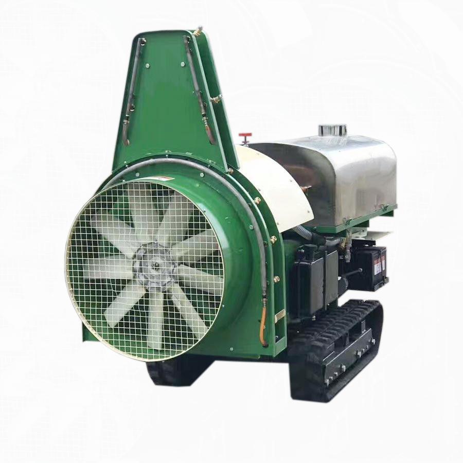 迷你履带多功能果园管理机-果园风送喷雾机 2