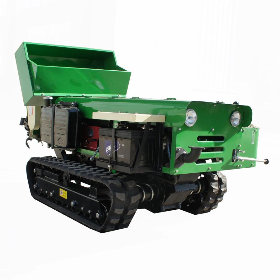 迷你履带多功能果园管理机-果园风送喷雾机 3