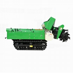 mini crawler  multifunction garden tractor with trencher