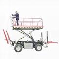 農用四驅輪式果園作業平台  4PZ-160 2