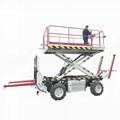 農用四驅輪式果園作業平台  4PZ-160 5