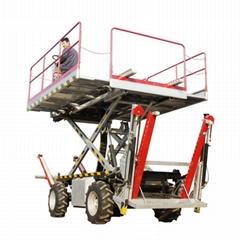 农用静液压四驱轮式果园液压升降作业工作平台  4PZ-160