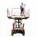 农用静液压四驱轮式果园液压升降作业工作平台  4PZ-160 3