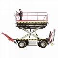 农用静液压四驱轮式果园液压升降作业工作平台  4PZ-160 4