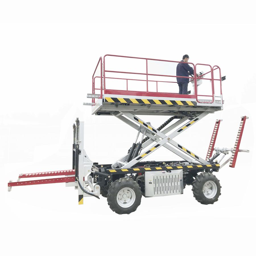 农用静液压四驱轮式果园液压升降作业工作平台  4PZ-160 6