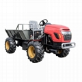 palm garden 4WD wheel transporter Tractor