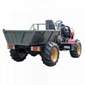 palm garden 4WD wheel transporter Tractor