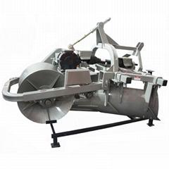 agricultural paddy field tiller ridger making machine
