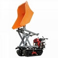 Mini Crawler type Dumper with lift