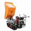 Mini Crawler type Dumper with lift container