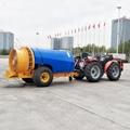 Tractor  trailer type orchard air blast sprayer