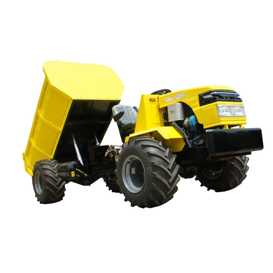4WD fruit transportation tractor  for swamp area