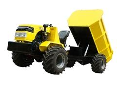 爬山虎山地四驱铰接式运输型拖拉机