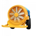 tractor PTO drive orchard air blast power sprayer