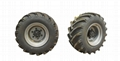 Ultra wide vacuum tyre