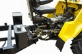 Articulated steering system