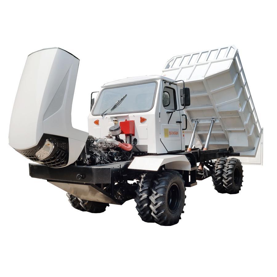 农用四驱棕榈园折腰转向运输型拖拉机 WY-5000 13