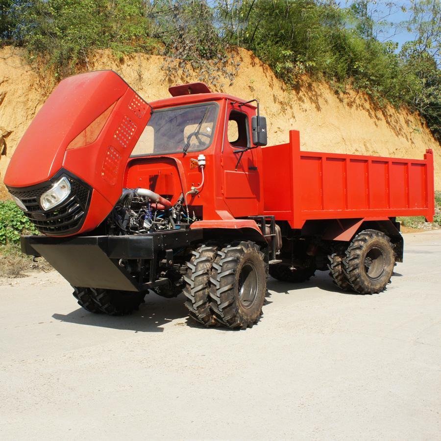 农用四驱棕榈园折腰转向运输型拖拉机 WY-5000 4