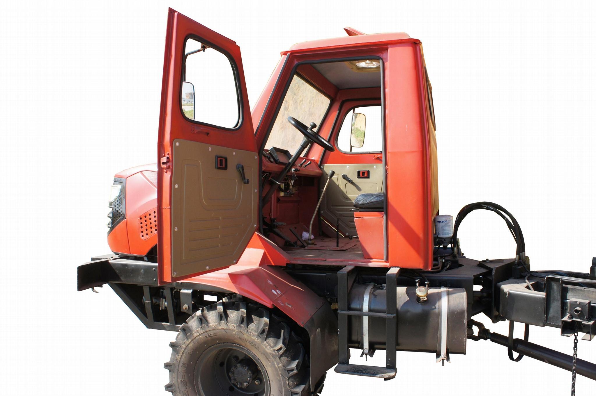 农用四驱棕榈园折腰转向运输型拖拉机 WY-5000 8