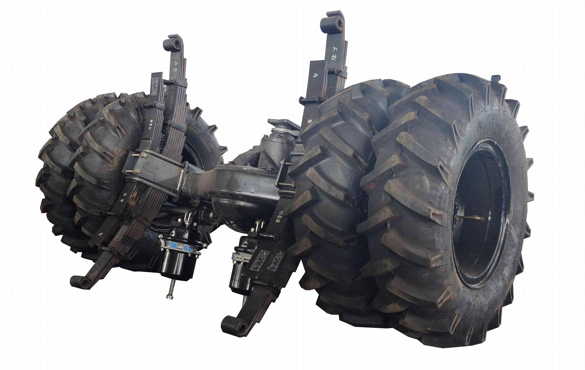农用四驱棕榈园折腰转向运输型拖拉机 WY-5000 6