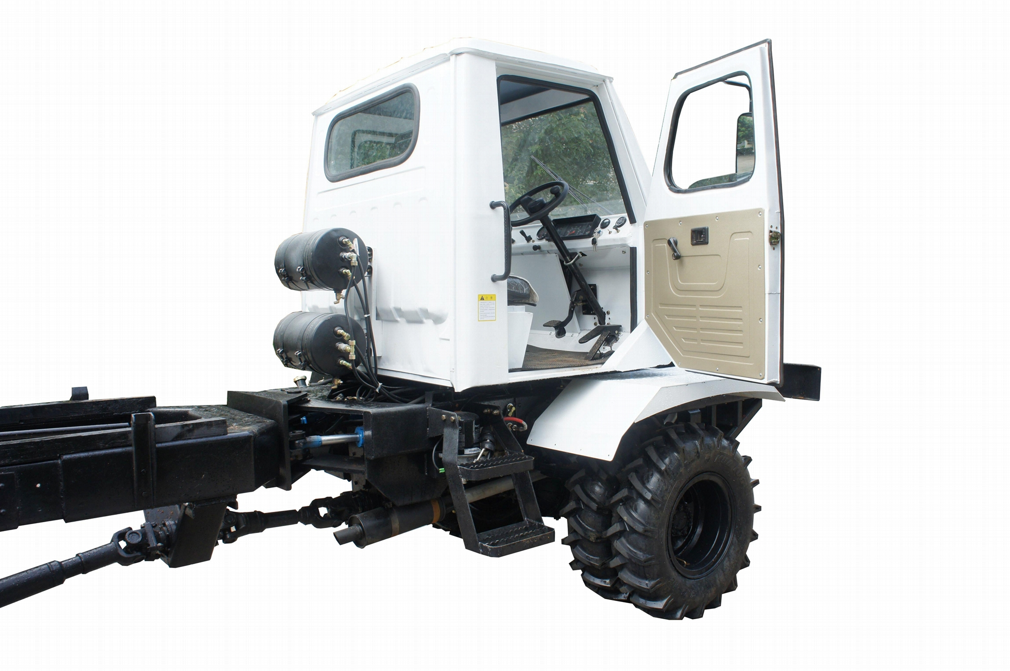 4WD Palm Garden wheel type transporter    7