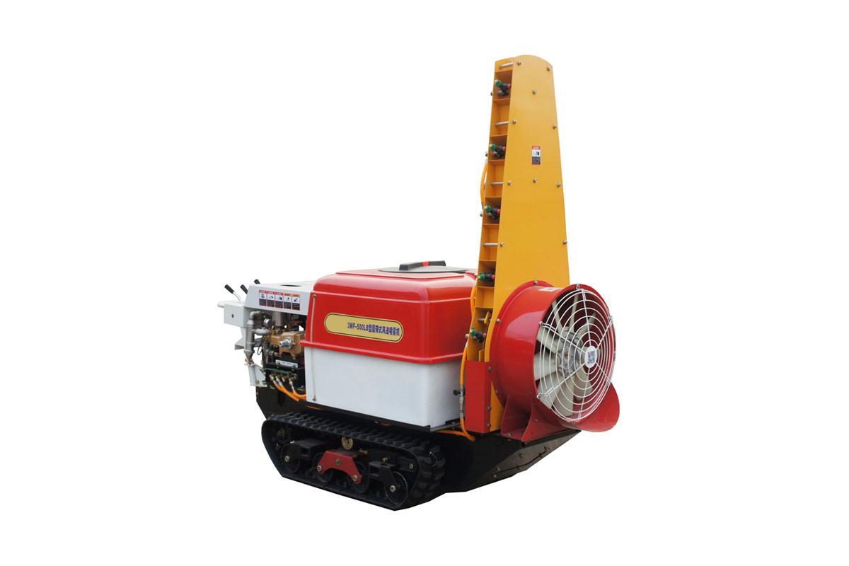 Self propelled crawler air blast power sprayer    10