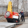 Self propelled crawler air blast power sprayer    12