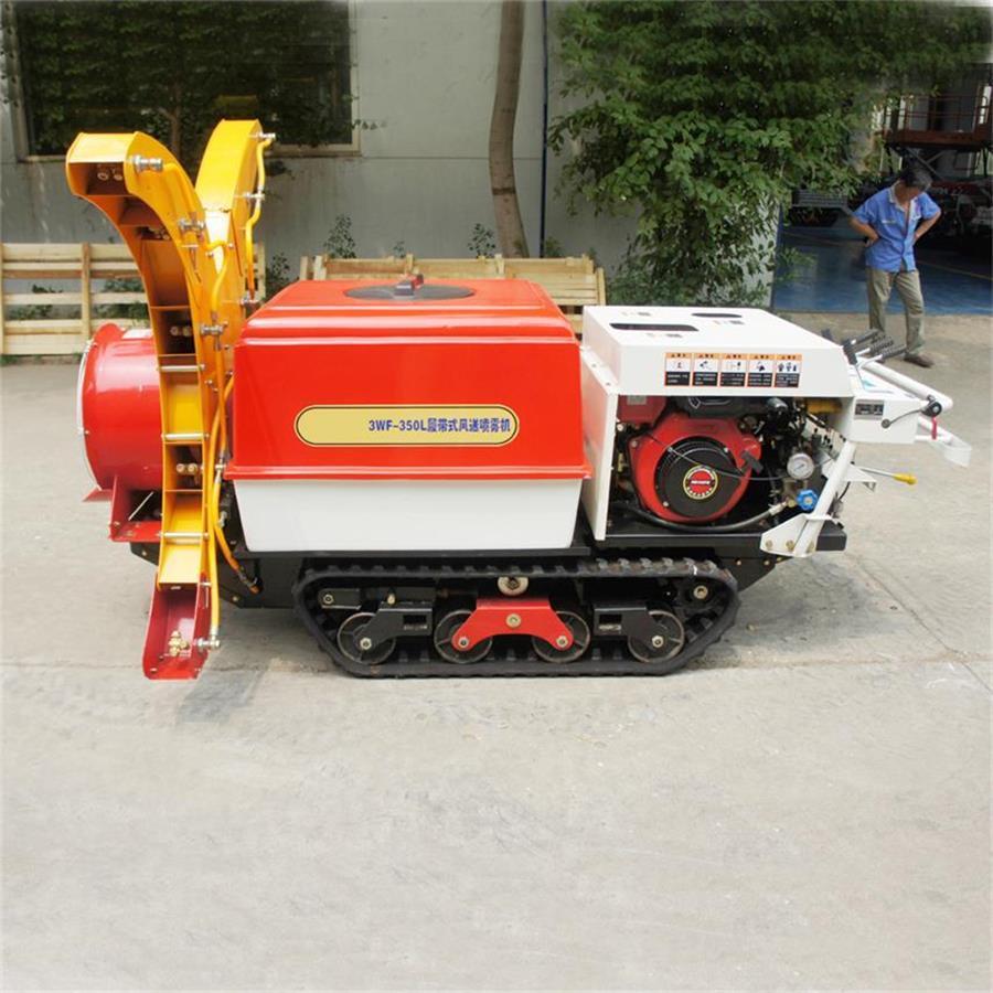 Self propelled crawler air blast power sprayer    13