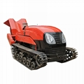 remote control garden crawler tracot with air balst power sprayer