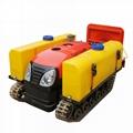 farm crawler remote control diesel engine tractor