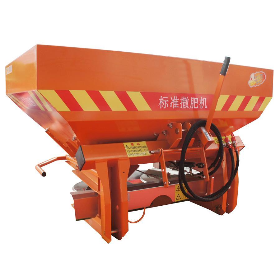 Double disc fertilizer applicator