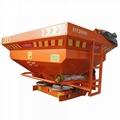 Agricultural tractor mounted fertilizer Spreader 3