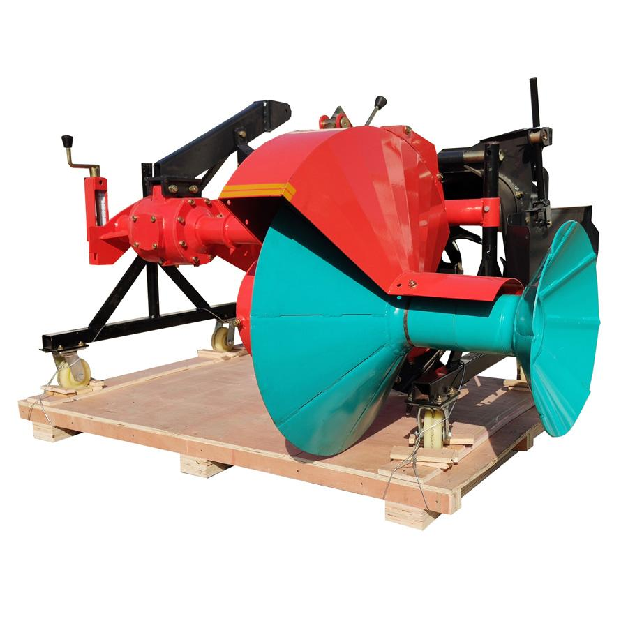 tractor mounted ridger making machine