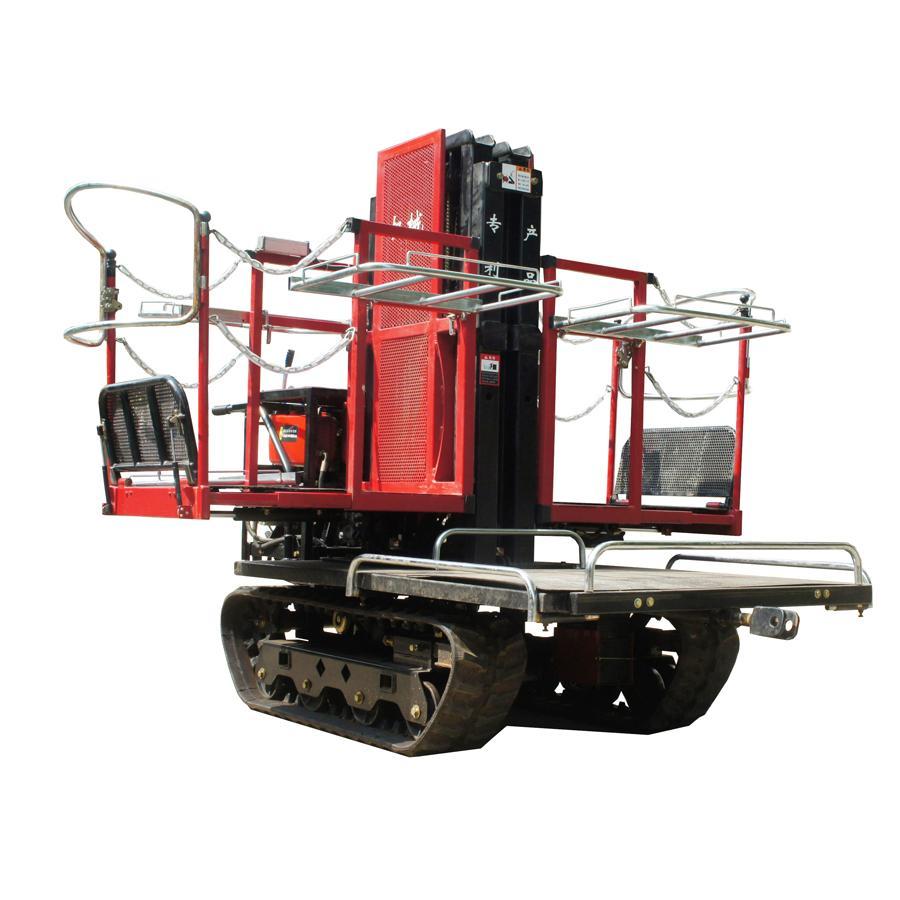 履带自走式柴油果园升降采摘工作平台 2